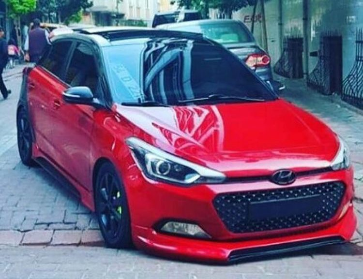 Hyundai i20 red hot modified 2018