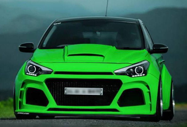 i20 Neon Green Modified